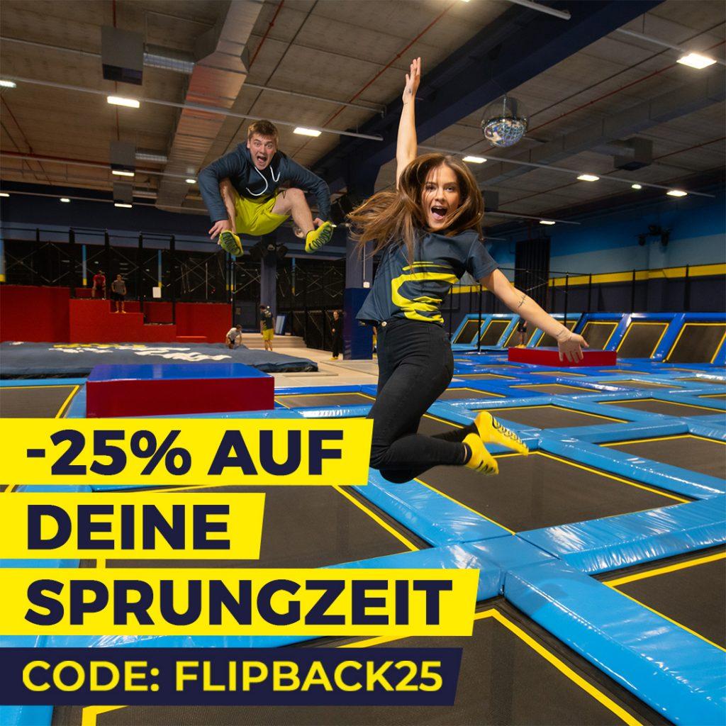 Wiedereröffnung -25% Rabatt - FLIP LAB Graz Center West